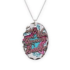 Worlds Best Bubbe Necklace Oval Charm