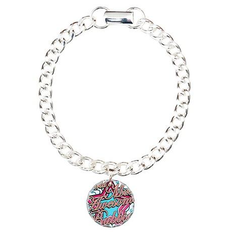 Worlds Best Bubbie Charm Bracelet, One Charm