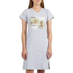 cats & dogs Women's Nightshirt