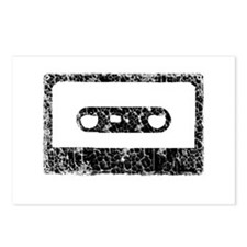 Worn, Cassette Tape Postcards (Package of 8)