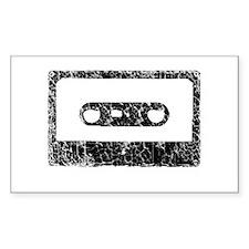 Worn, Cassette Tape Decal
