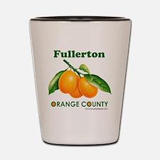 Fullerton, Orange County Shot Glass