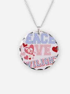 Peace Love Twilight Necklace