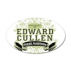 Edward Cullen Twilight 22x14 Oval Wall Peel