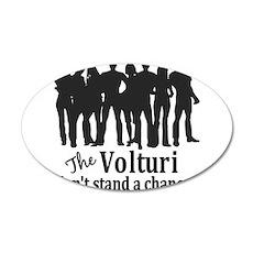 Eclipse Volturi T-shirts 22x14 Oval Wall Peel