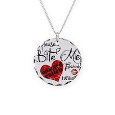 Bite Me Edward Cullen Necklace