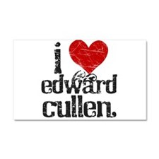 I Love Edward Cullen Car Magnet 20 x 12