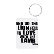 Twilight Movie Quote Keychains