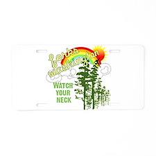 Forks Washington Twilight Aluminum License Plate