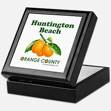 Huntington Beach, Orange County Keepsake Box