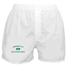 Physics Dept. Boxer Shorts