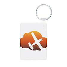 Aviation - Plane & Cloud Keychains