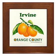 Irvine, Orange County Framed Tile
