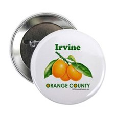 "Irvine, Orange County 2.25"" Button (10 pack)"