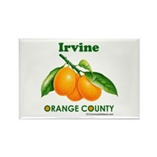 Irvine, Orange County Rectangle Magnet