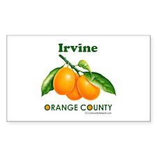 Irvine, Orange County Decal
