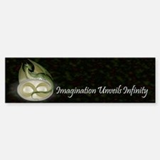 Infinite Imagination Bumper Bumper Sticker