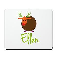 Ellen the Reindeer Mousepad