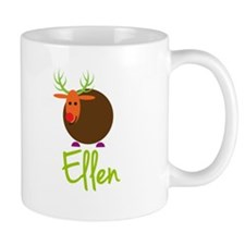 Ellen the Reindeer Small Mugs