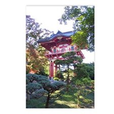 Japanese Garden Gate Postcards (Package of 8)