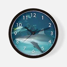 """Shark"" Wall Clock"