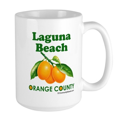 Laguna Beach, Orange County Large Mug