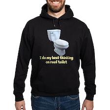 Roof Toilet Hoodie