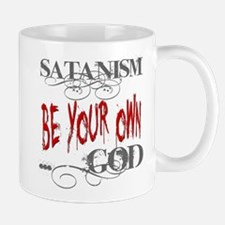 Satanism Be Your Own God Mug