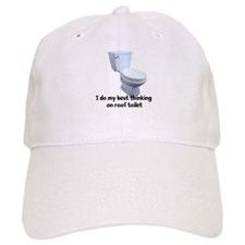 Roof Toilet Baseball Cap