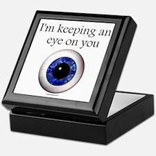 Keeping an Eye on You Keepsake Box