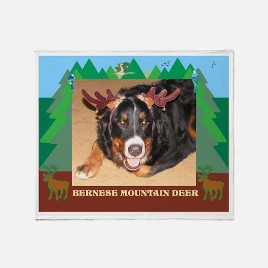 FPG Berner Deer - Throw Blanket