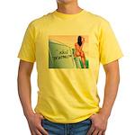 AdultBoating Yellow T-Shirt