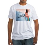 AdultBoating Fitted T-Shirt