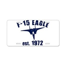 Varsity- F15-1972 Aluminum License Plate