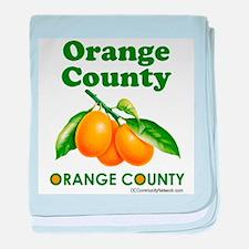 Orange County, Orange County baby blanket