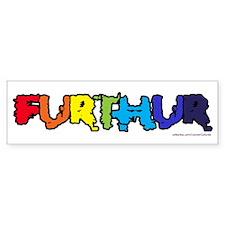 Furthur 2 Bumper Bumper Sticker