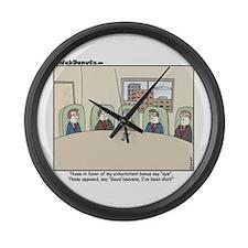 CEO Bonus Large Wall Clock
