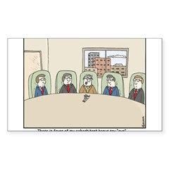 CEO Bonus Sticker (Rectangle 50 pk)