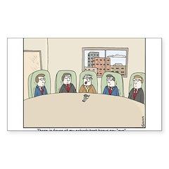 CEO Bonus Sticker (Rectangle)