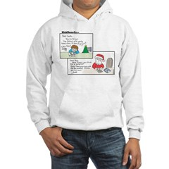 Vampire Santa Hooded Sweatshirt