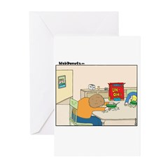 UH-OH Greeting Cards (Pk of 10)