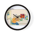 UH-OH Wall Clock