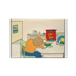 UH-OH Rectangle Magnet (100 pack)
