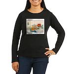 UH-OH Women's Long Sleeve Dark T-Shirt