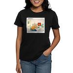 UH-OH Women's Dark T-Shirt