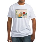 UH-OH Fitted T-Shirt