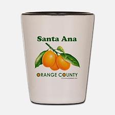Santa Ana, Orange County Shot Glass