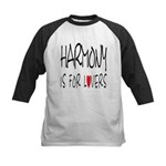Harmony Is For Lovers Kids Baseball Jersey