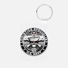 USN Logistics Specialist SK Keychains