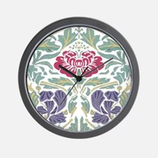 Morris Rose Wall Clock